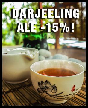 """""""Teen samppanjana"""" tunnettu uskomattoman aromaattinen Darjeeling-tee nyt -15% ALE-hintaan! Tilaa heti ja maista ainutlaatuinen musta tee Intian Darjeelingista!"""